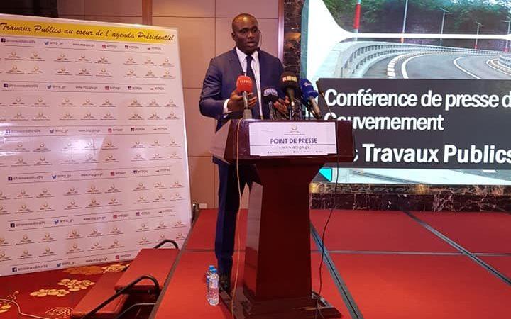 CONFERENCE DE PRESSE: le ministre Naité parle de ses investissements dans les routes