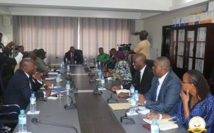 CONSULTATIONS NATIONALES: trois responsablesdes institutions républicainesreçues par le PM Kassory Fofana