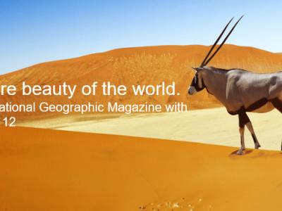CONCOURS : saisissez la beauté du monde et votre photo sera publiée dans National Geographic