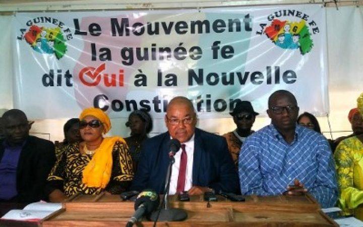 GUINEE : le Mouvement ''la GuinéeFé'' s'engageà œuvrer pour l'adoption d'une nouvelle Constitution