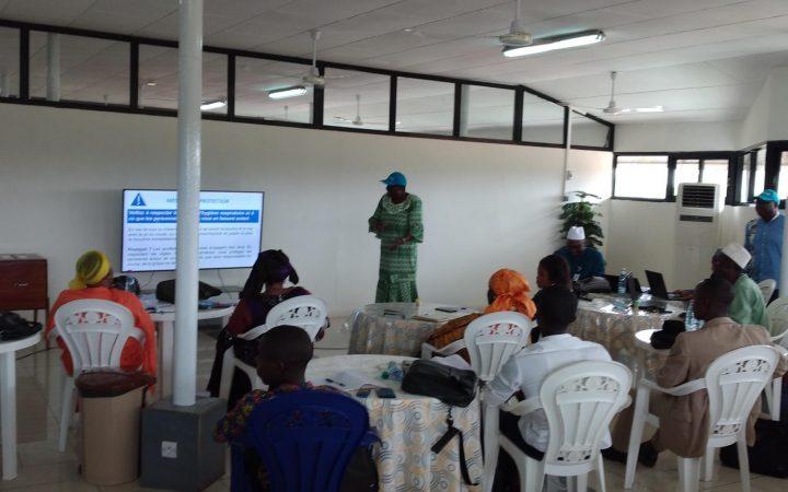 MEDIA : formation journalistes des radios nationales et rurales de Guinée, des techniques de communication de crise