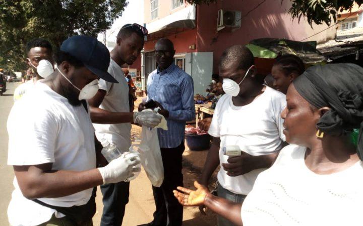 CORRESPONDANCE PARTICULIERE : la Jeunesse de Kipé Dadia combat le Covid-19