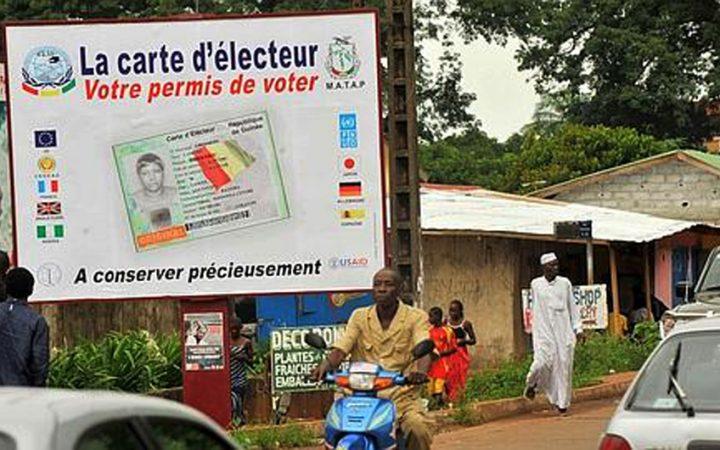 FRIA : DISTRIBUTION EFFECTIVE DES CARTES D'ÉLECTEURS