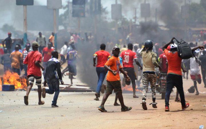 GUINEE : vandalismes, incendies, morts d'hommes, le gouvernement dresse le bilan des…